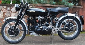 STUNNING 1954 VINCENT BLACK SHADOW 998cc MOTORCYCLE / MOTORBIKE