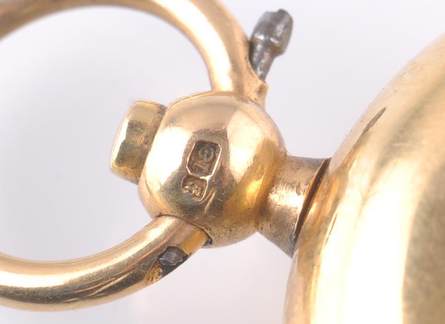 Lot 10 - 18CT GOLD HALLMARKED VICTORIAN SOVEREIGN HOLDER