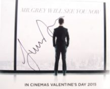 "JAMIE DORNAN - FIFTY SHADES OF GREY - SIGNED 8X10"""