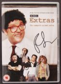 RICKY GERVAIS & STEPHEN MERCHANT - EXTRAS SIGNED D