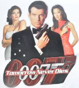JAMES BOND TOMORROW NEVER DIES CARDBOARD CUT OUT POSTER