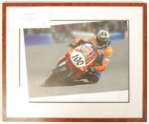 ' THE FUTURE'S BEST ' BY DAVE FORD AUTOGRAPHED NEIL HODGSON PRINT