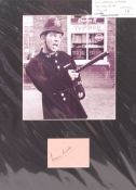 NORMAN WISDOM - ON THE BEAT - AUTOGRAPH DISPLAY