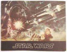 RARE ORIGINAL 1977 STAR WARS UK CINEMA RELEASE BROCHURE
