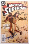 MARGOT KIDDER - SUPERMAN - AUTOGRAPHED DC COMICS COMIC BOOK