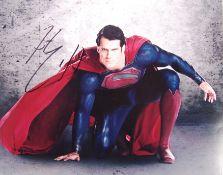 HENRY CAVILL - SUPERMAN MAN OF STEEL - SIGNED 8X10