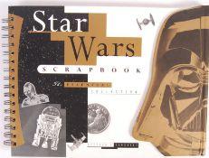 STAR WARS SCRAPBOOK - GERALD HOME - AUTOGRAPHED BOOK