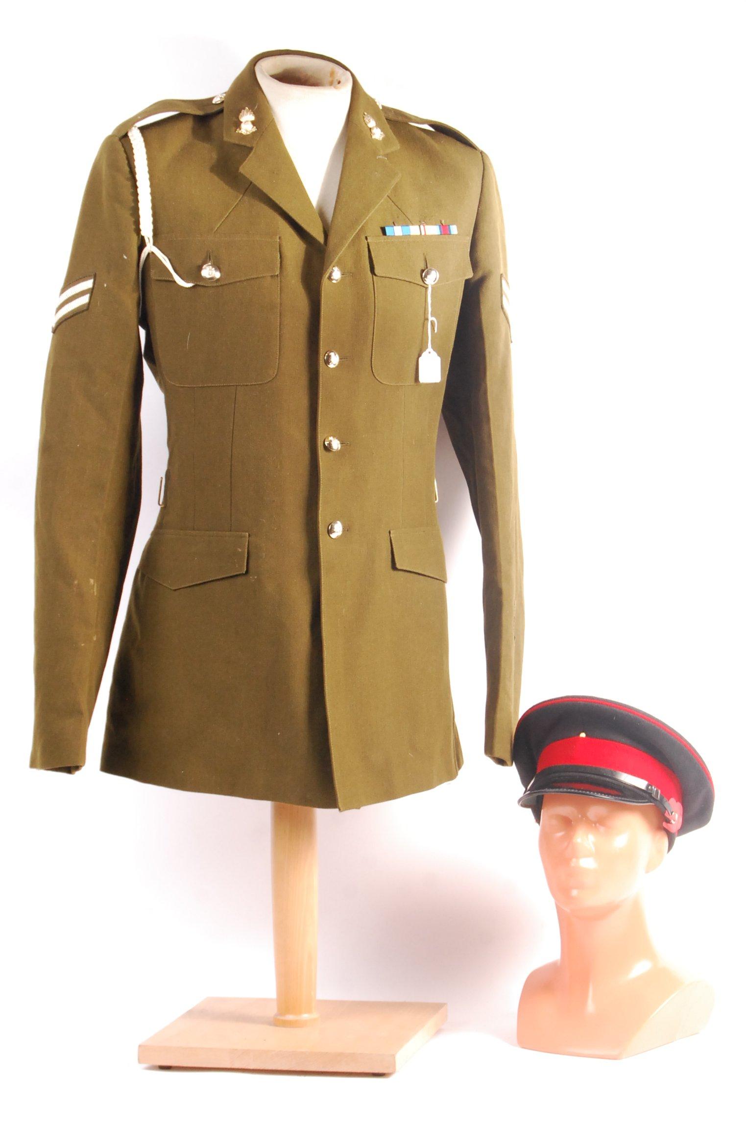 Lot 204 - POST WWII ROYAL ARTILLERY OFFICER SERGEANT DRESS U