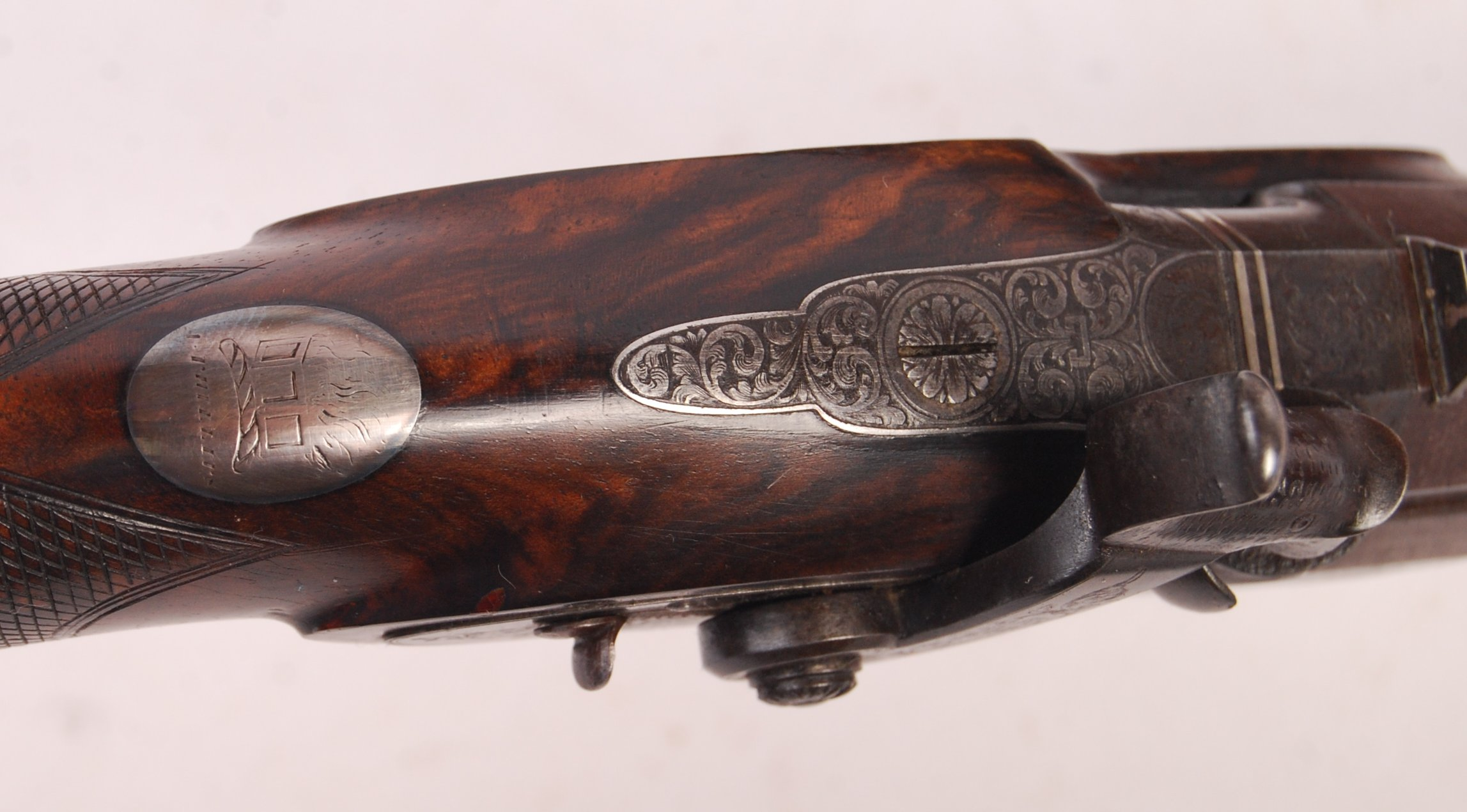 Lot 200 - SUPERB PAIR OF 19TH CENTURY DUELLING PISTOLS BY CH