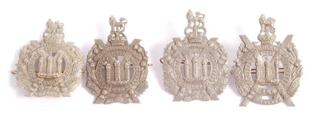 COLLECTION OF FOUR SCOTTISH OWN BORDERERS MILITARY