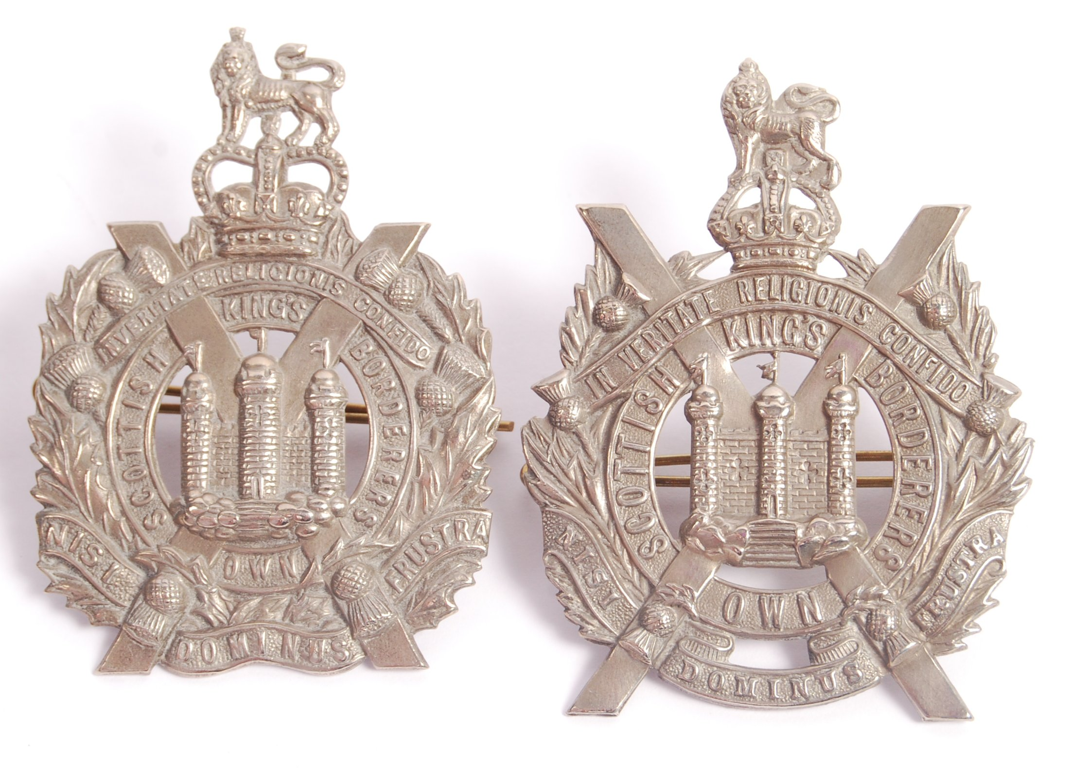 Lot 138 - COLLECTION OF FOUR SCOTTISH OWN BORDERERS MILITARY