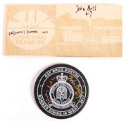 TWO BOMBER COMMAND AUTOGRAPHED RAF ITEMS