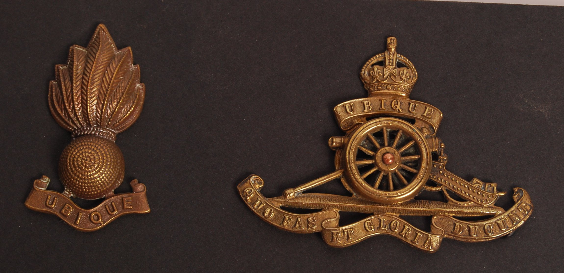 Lot 119 - BRITISH ARMY ROYAL ARTILLERY WWI & LATER REGIMENT