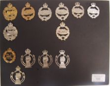 COLLECTION OF WWI & LATER TANK CORPS & ROYAL ARMOU