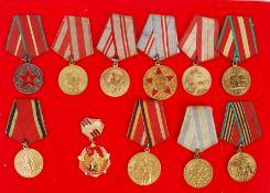 WWI & WWII SOVIET UNION RUSSIAN CCCP VETERAN ANNIV