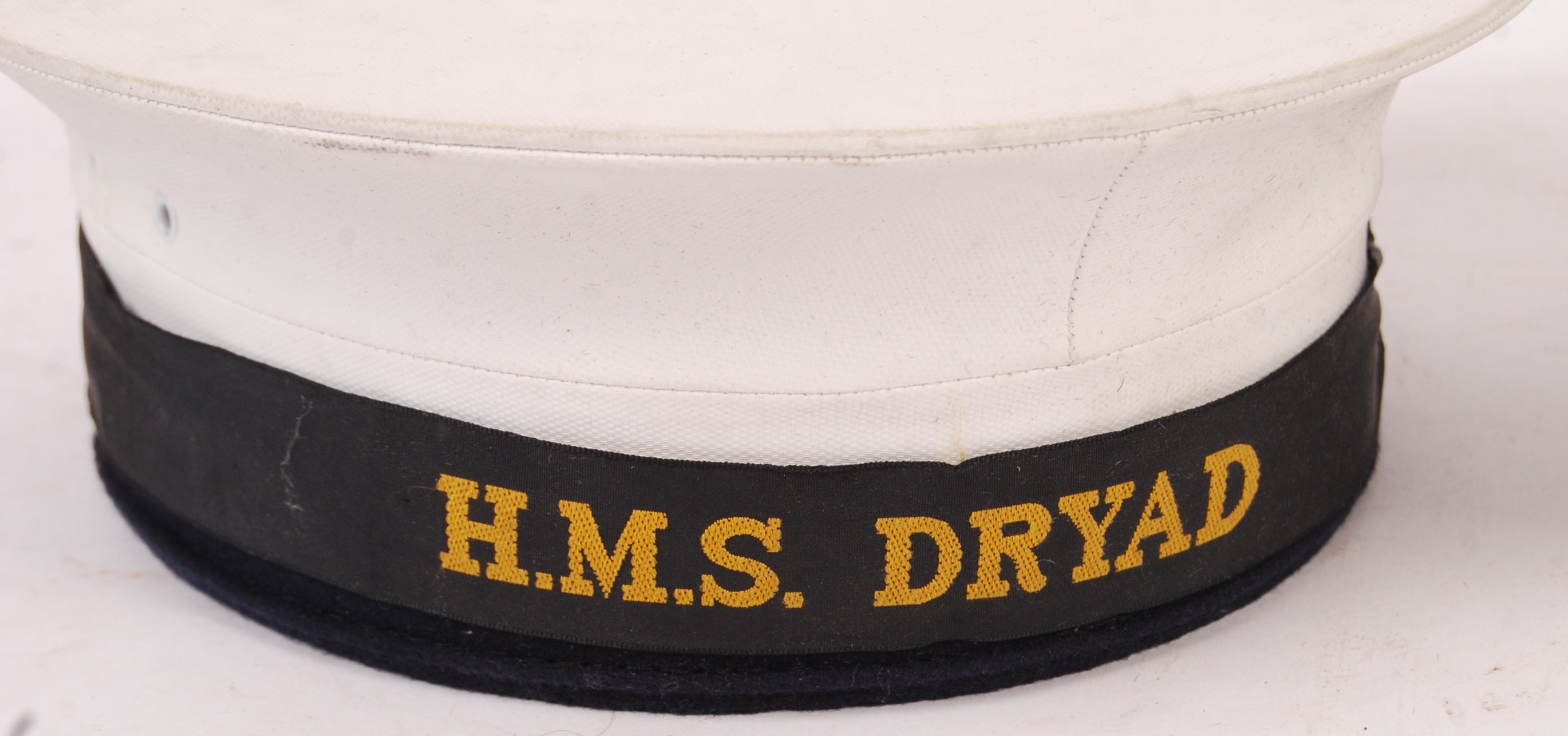 Lot 184 - TWO 20TH CENTURY ROYAL NAVY UNIFORM CAPS / HATS
