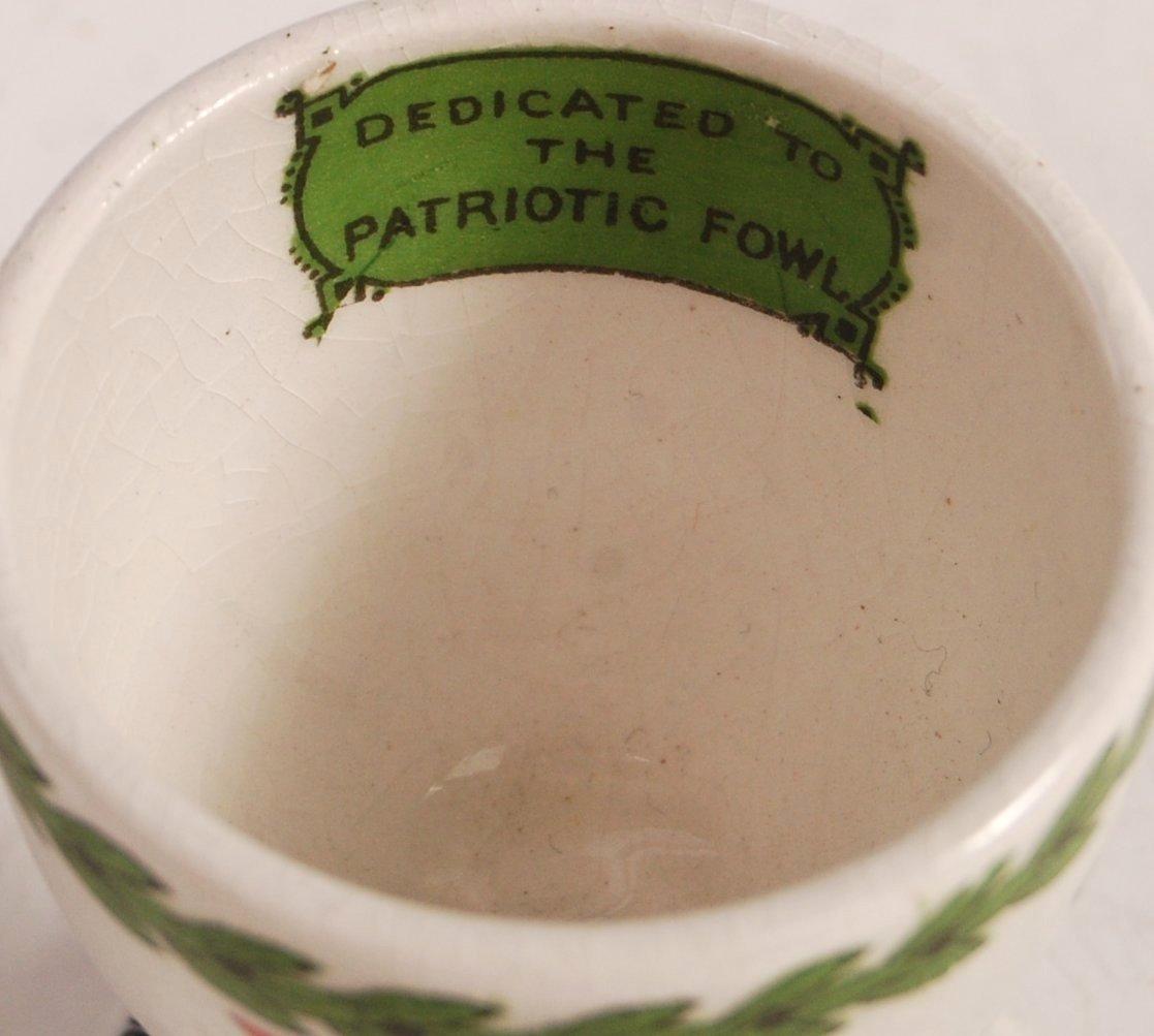 Lot 11 - RARE WWI FIRST WORLD WAR INTEREST LLOYD GEORGE EGG