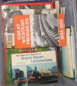 50+ ASSORTED RAILWAY, TRAIN AND LOCOMOTIVE RELATED