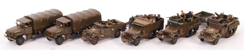 COLLECTION OF ASSORTED MONOGRAM MILITARY 1/35 SCAL