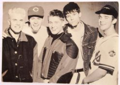 RARE ' TAKE THAT ' FULL BAND AUTOGRAPHED PROMOTION