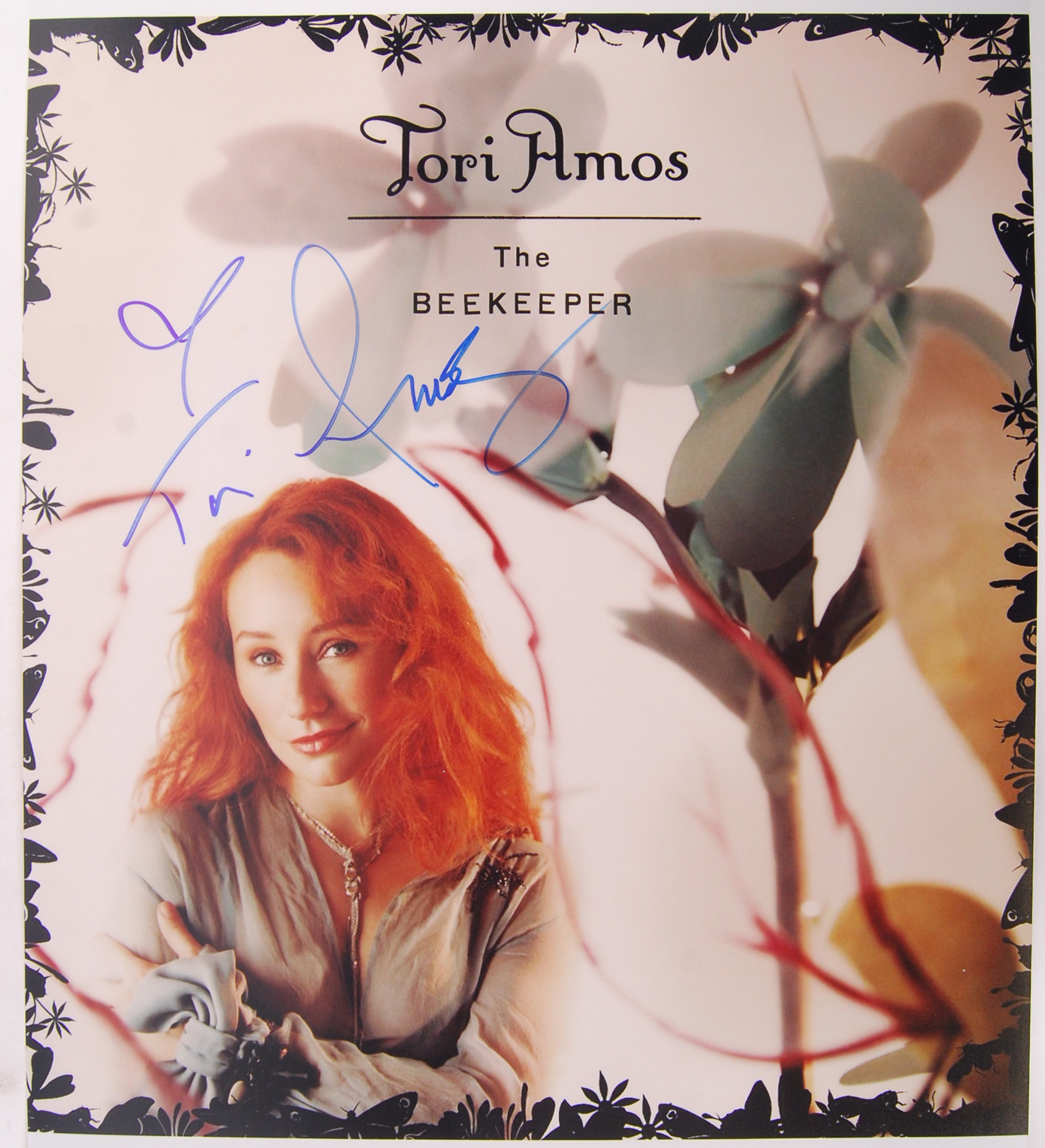 Lot 79 - TORI AMOS - THE BEEKEEPER - RARE SIGNED PHOTOGRAPH