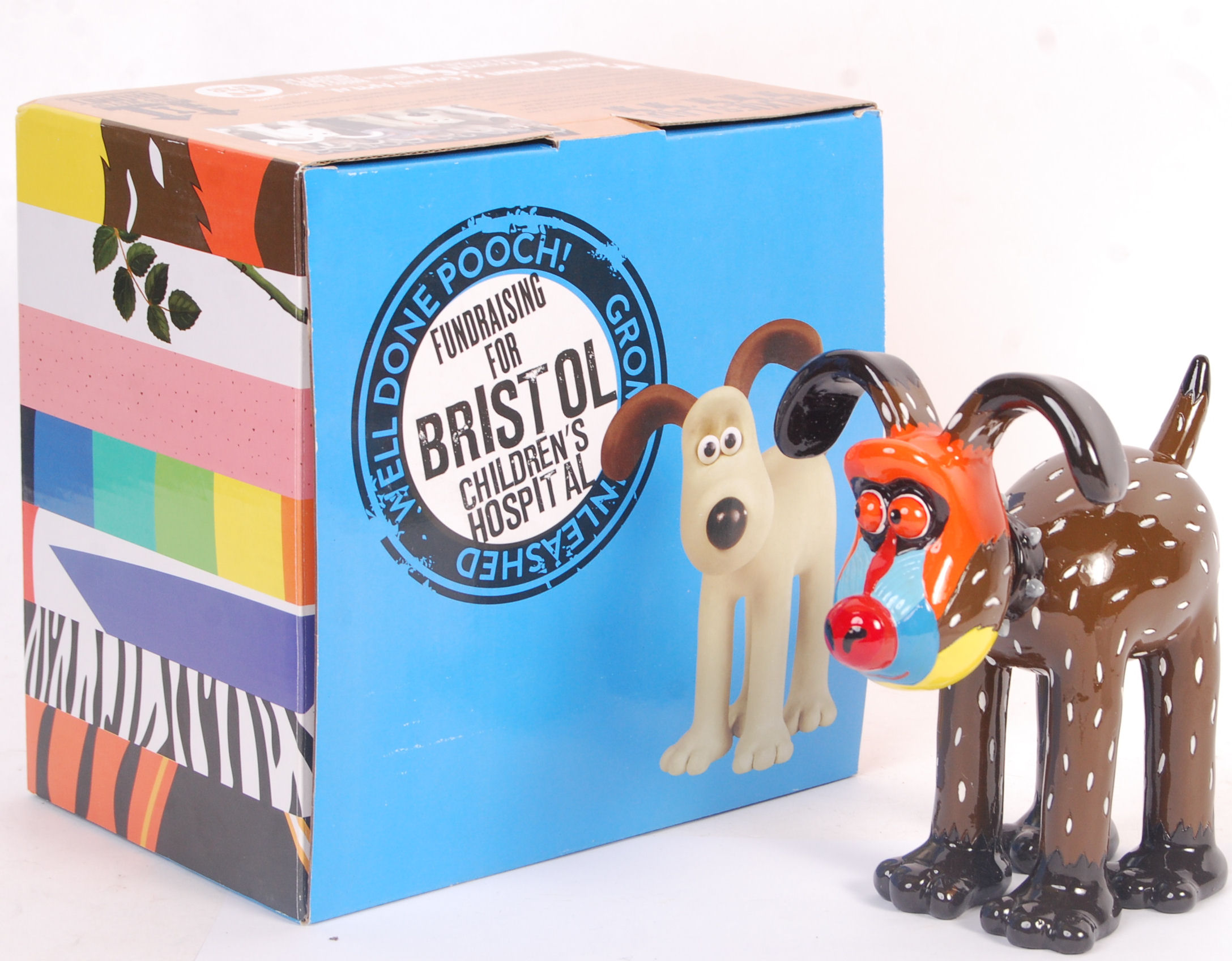 Lot 70 - GROMIT UNLEASHED COLLECTABLE FIGURINE ' MANDRILLE'