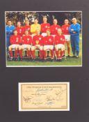 WORLD CUP 1966 - ENGLAND FOOTBALL AUTOGRAPHS - SET