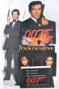 COLLECTION OF JAMES BOND CINEMA CARDBOARD CUT OUTS