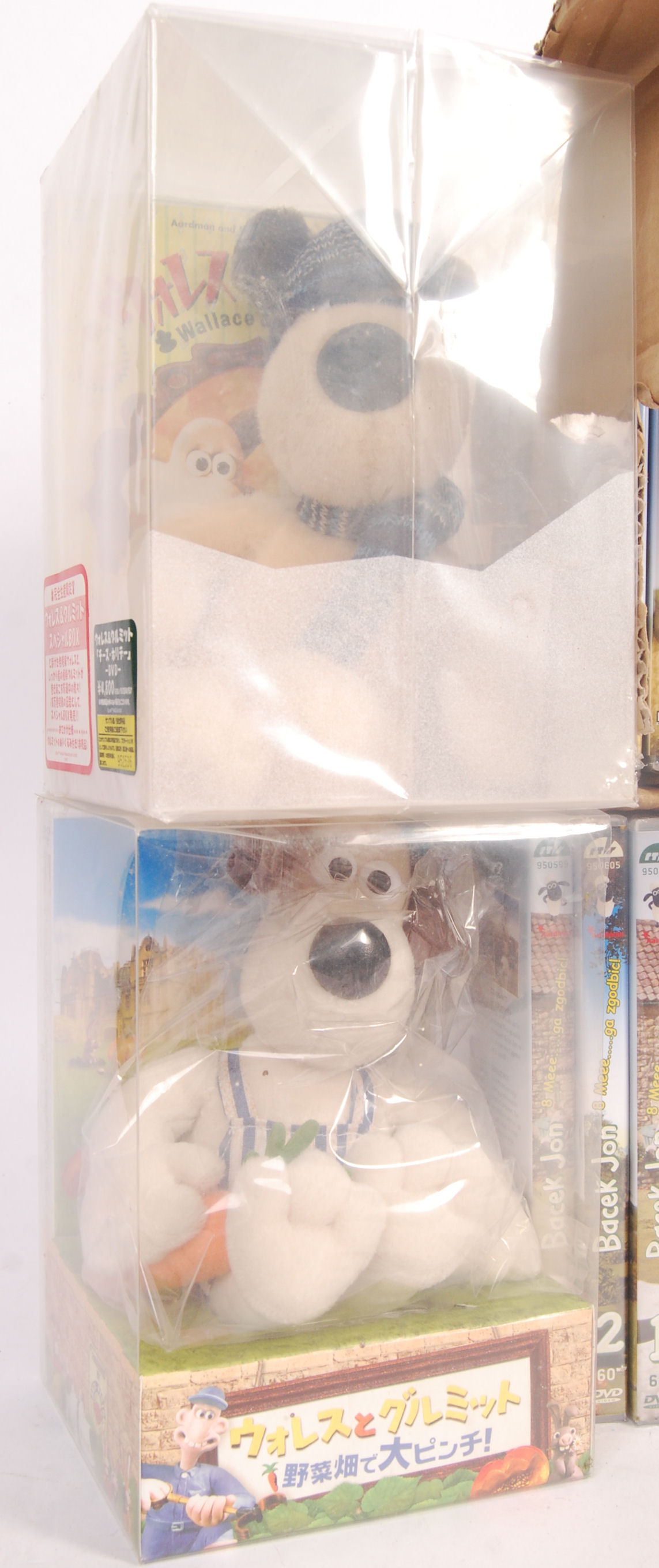 Lot 162 - AARDMAN ANIMATION SHAUN THE SHEEP DVD'S AND CD'S