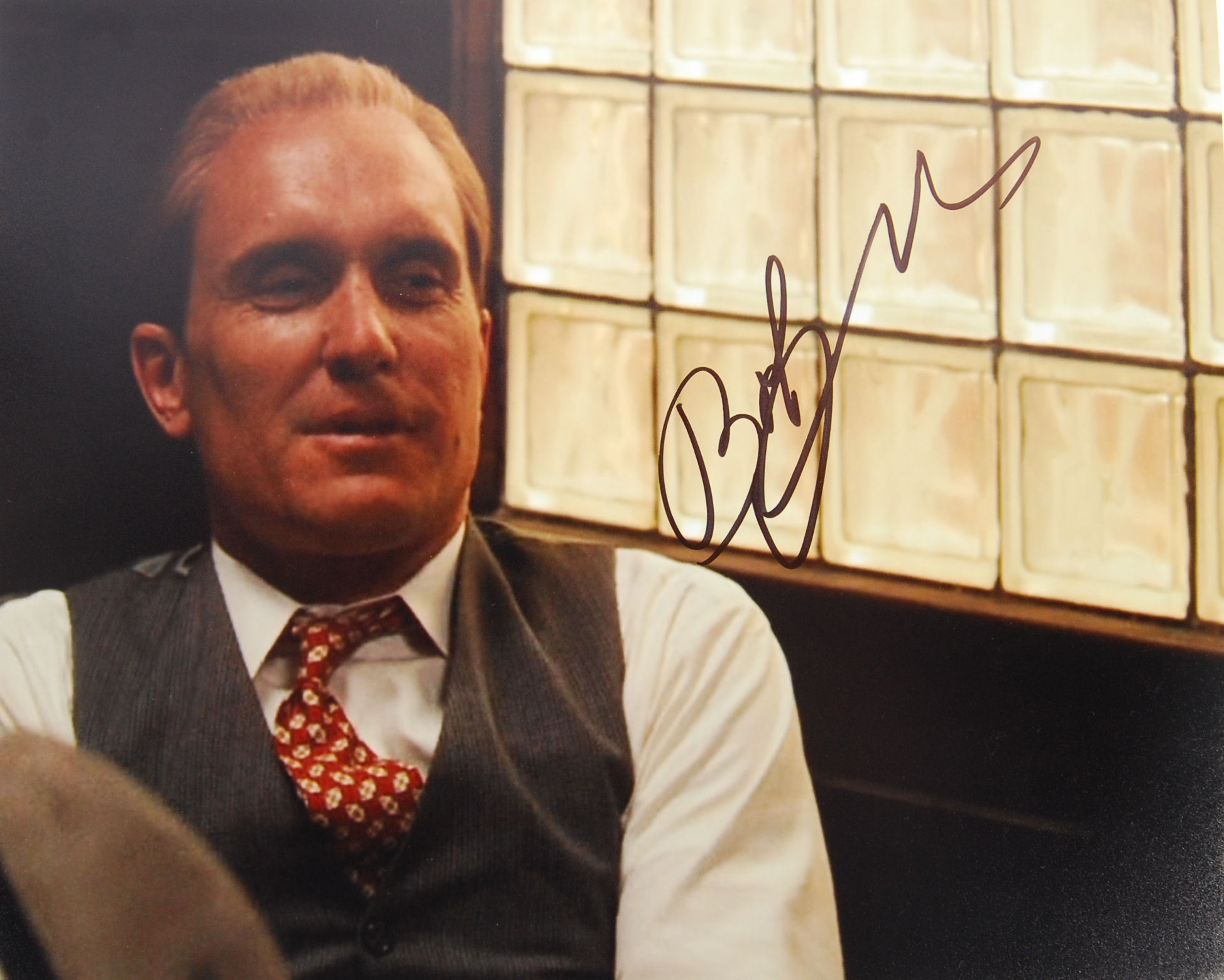 """Lot 31 - ROBERT DUVALL - THE GODFATHER - SIGNED 8X10"""" PHOTO"""