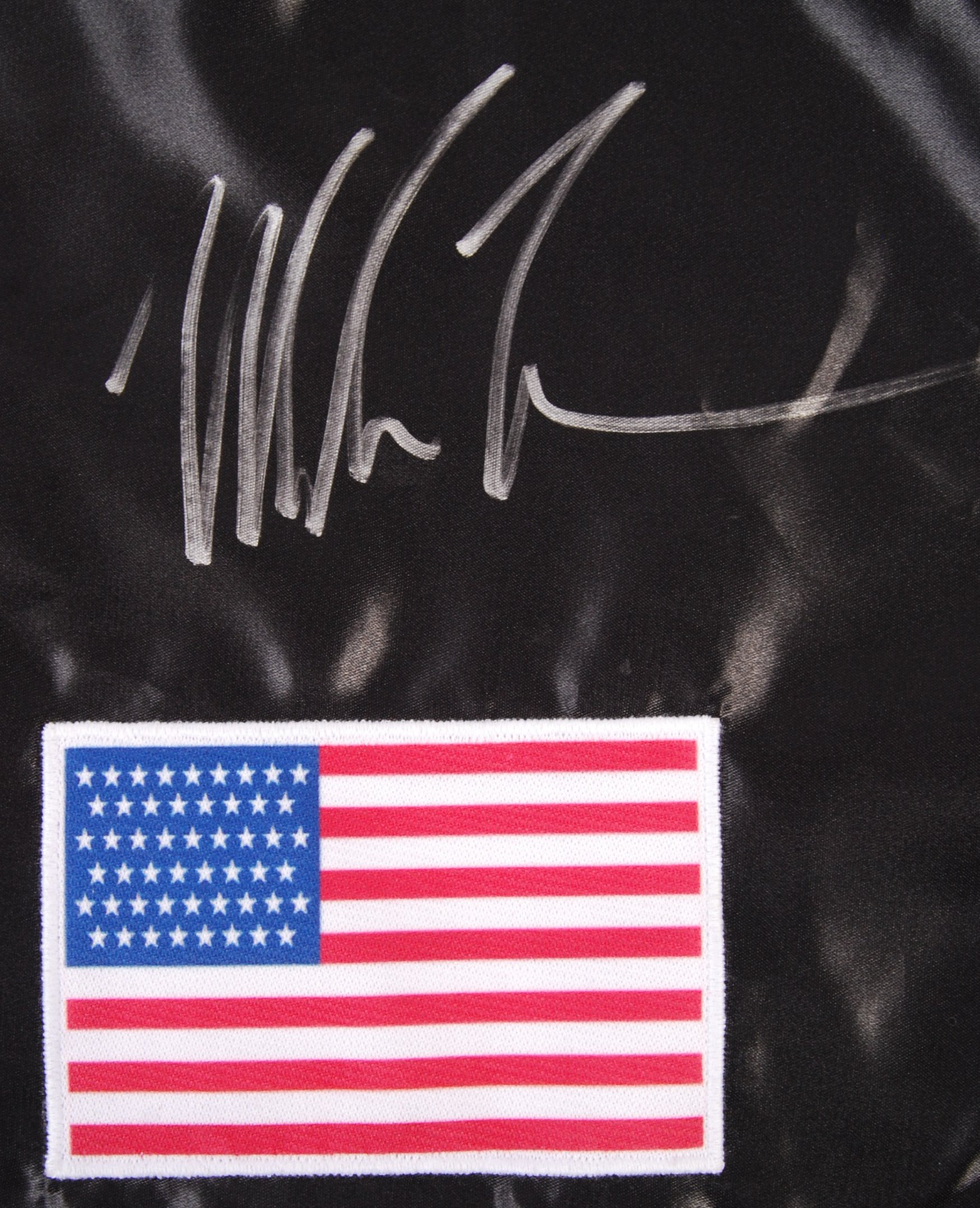 Lot 124 - MIKE TYSON - INCREDIBLE SIGNED PAIR OF BOXING SHOR
