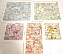 A collection of five various sized 20th Century w