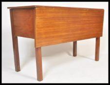 A retro mid 20th century teak wood pembroke drop