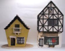 A vintage 20th Century Tudor style dolls house hav