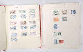 A collection of world stamps dating from the 19th