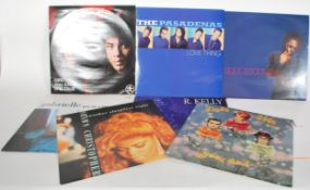 """A good collection of 12"""" vinyl record singles most"""