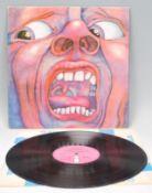 Vinyl long play LP record album by King Crimson –