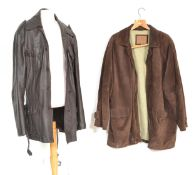 Two vintage 1970's / 80's men's jacket / coats to