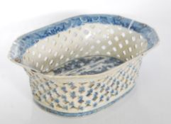 A 18th Century Chinese blue and white porcelain ch