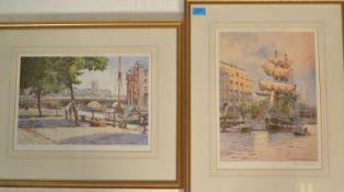 Frank Shipsides - Two signed limited edition local