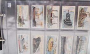 A large collection of vintage Wills cigarette card