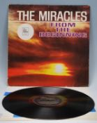 Vinyl long play LP record album by The Miracles –