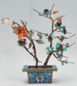 A 19th Century Chinese bonsai tree ornament having