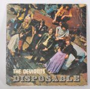 Vinyl long play LP record album by The Deviants –