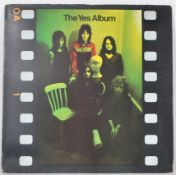 Vinyl long play LP record album by Yes – The Yes A