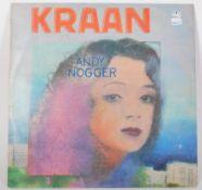 Vinyl long play LP record album by Kraan – Andy No