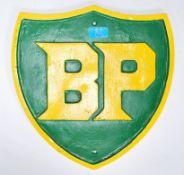 A vintage 20th Century cast iron BP reproduction a