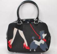 A Lulu Guinness ' Walking the Dog ' tote handbag h