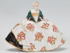 A rare 19th Century German antique Ludwigsburg por