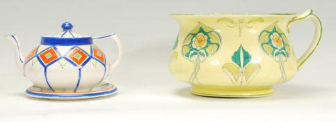 A Middleport Pottery of Lancaster Art Nouveau cham